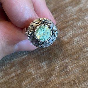 Sterling Silver sz 6 Vintage Estate Sale Ring